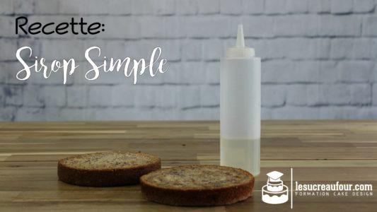 recette de sirop simple