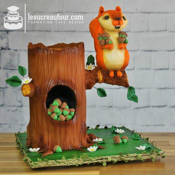 cours de cake design 3D structure