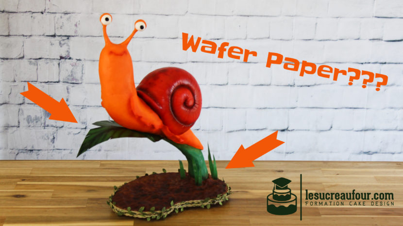 tutoriel wafer paper