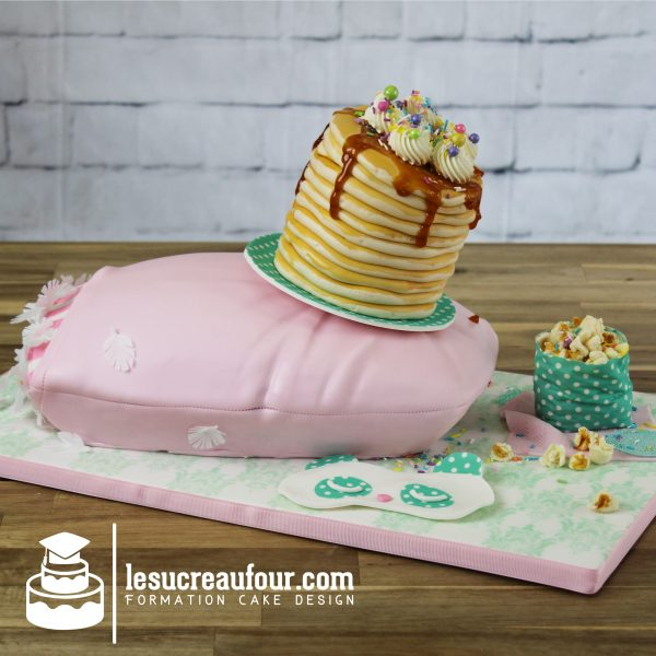 cours de gâteau soirée pyjama