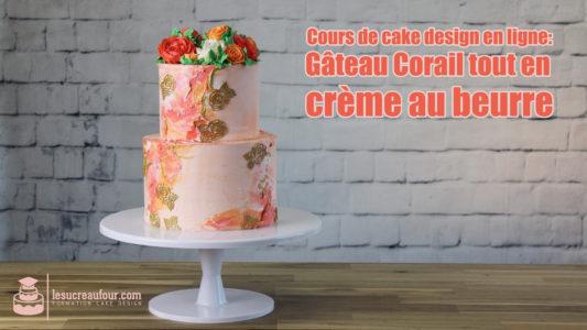 cours cake design crème au beurre