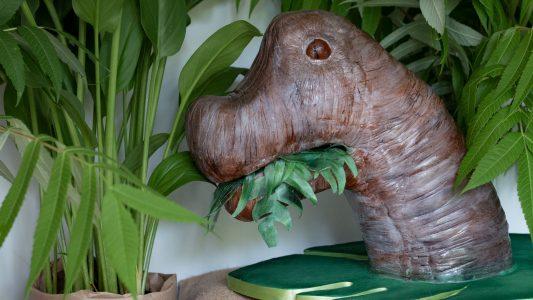 Gâteau dinosaure 3D
