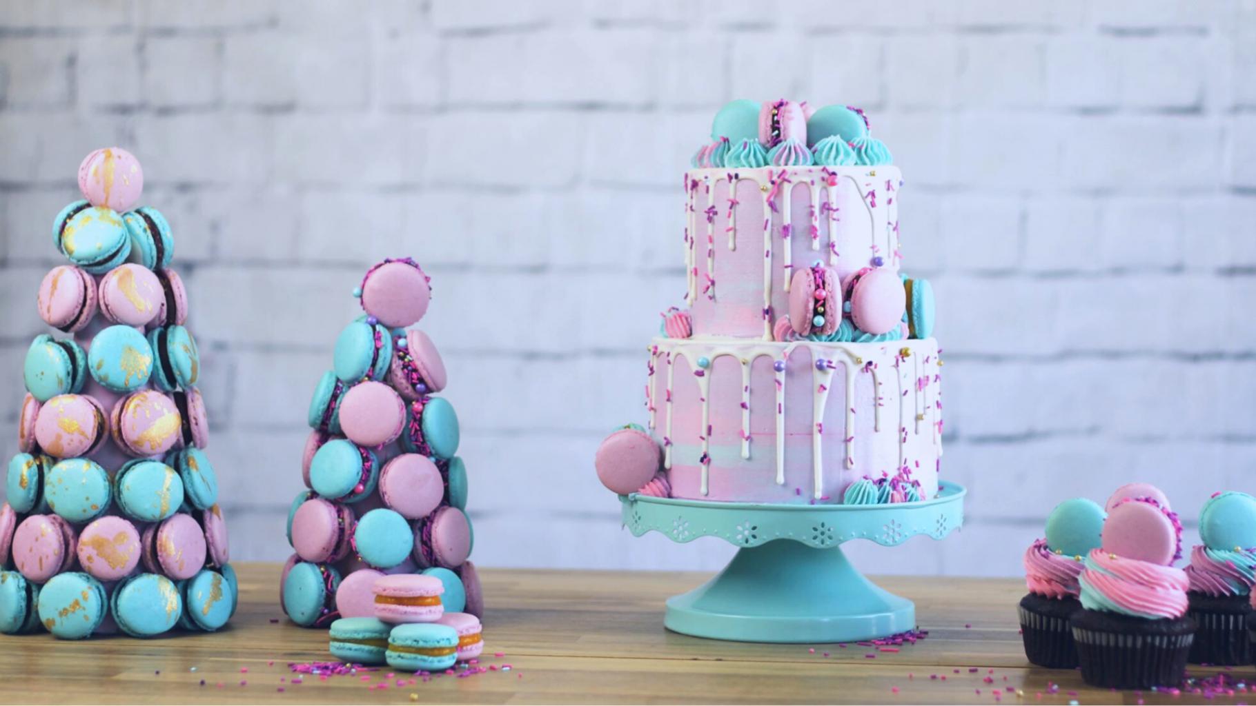 Cours de cake design en ligne d'introduction au macarons