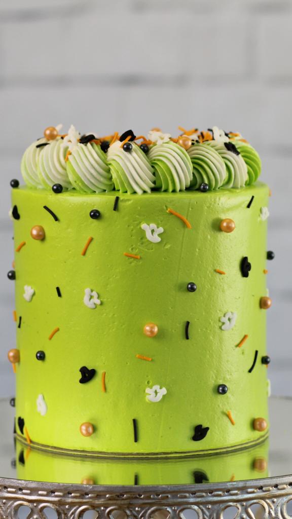 gâteau desserts d'halloween