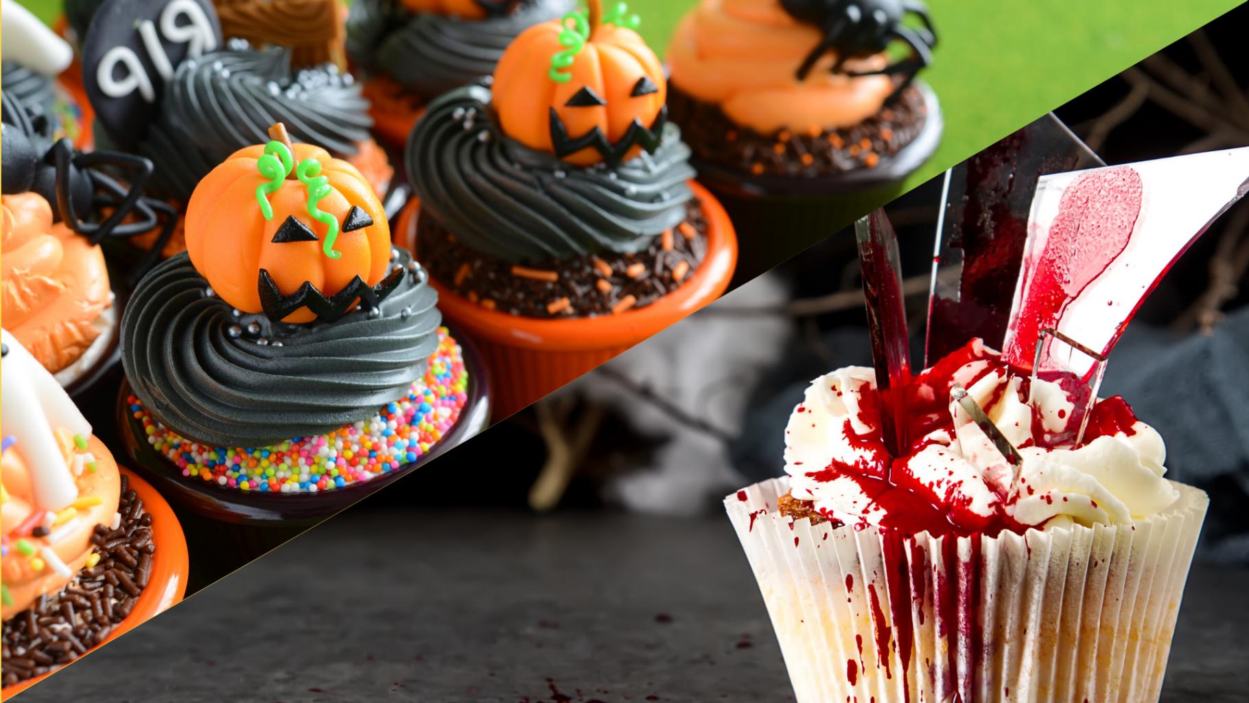cupcake desserts d'halloween